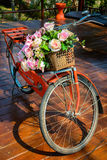 Decorative bicycle Stock Photography