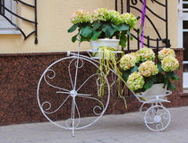Decorative bicycle Royalty Free Stock Image