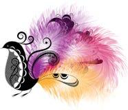 Decorative bird Royalty Free Stock Photos