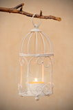 Decorative bird cage Royalty Free Stock Photography