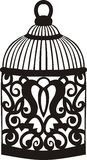 Decorative bird cage. Stock Photos