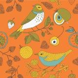 Decorative Bird Design Stock Image