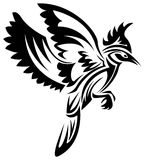 Decorative bird Royalty Free Stock Image
