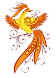 Decorative bird. Vector decorative bird in folk style Royalty Free Stock Photos