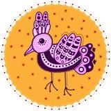 Decorative bird Stock Image