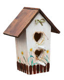 Decorative birdhouse Royalty Free Stock Photo
