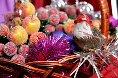 Decorative birdy Royalty Free Stock Photography