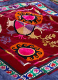 Decorative Blanket - Bedspread Royalty Free Stock Photography