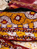 Decorative Blanket - Bedspread Royalty Free Stock Images