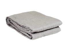 Decorative blanket isolated on white. Background Royalty Free Stock Image