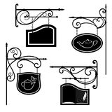 Decorative boards 3 Royalty Free Stock Image