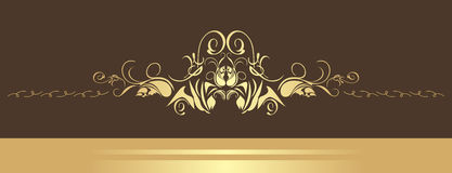Decorative border Stock Images
