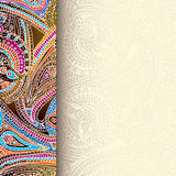 Decorative border background Royalty Free Stock Photo