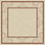 Decorative border and frame Stock Photo