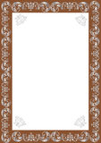 Decorative border or frame Royalty Free Stock Photo