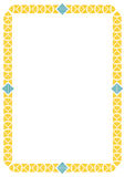 Decorative border frame Royalty Free Stock Images