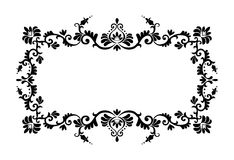 Decorative border ornament Royalty Free Stock Image