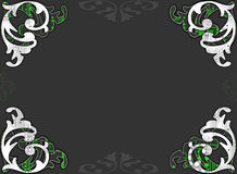 Decorative border page Royalty Free Stock Images