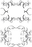 Decorative Borders. Ornate decorative borders - additional ai and eps format available on request Royalty Free Stock Photography