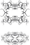 Decorative Borders. Ornate decorative borders - additional ai and eps format available on request Royalty Free Stock Image