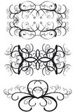 Decorative Borders. Ornate decorative borders - additional ai and eps format available on request Stock Photo