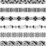 Decorative borders Royalty Free Stock Image