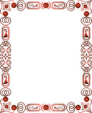 Decorative borders and frames Royalty Free Stock Photography