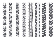 Decorative borders Royalty Free Stock Images