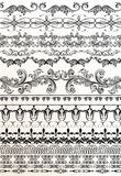 Decorative borders for your design. Calligraphic vector Royalty Free Stock Photos