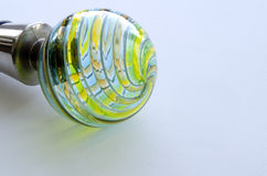 Decorative bottle cap from Murano glass Stock Photography