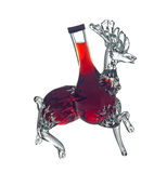 Decorative bottle stag by Foxovsky Stock Photography