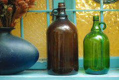 Decorative Bottles Royalty Free Stock Image