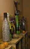 Decorative bottles Royalty Free Stock Photo
