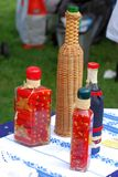 Decorative bottles. Stock Image