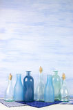 Decorative bottles set Stock Photography