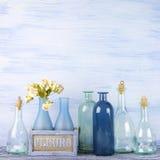 Decorative bottles set Royalty Free Stock Photography