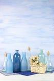 Decorative bottles set Royalty Free Stock Photo