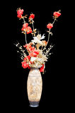 Decorative bouquet in a vase Stock Images