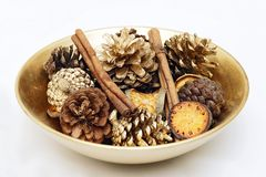 Decorative Bowl Royalty Free Stock Images