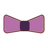 Decorative bowtie  icon. Vector illustration design Stock Photography