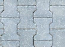 Decorative brick. Paving stone flat piece of stone Royalty Free Stock Photo