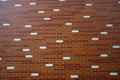 Decorative brick wall Stock Image