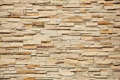Decorative brick wall Stock Photography