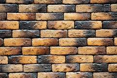 Decorative brick wall Stock Photo