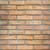 Decorative brick wall - seamless background - sandstone pattern Royalty Free Stock Photos