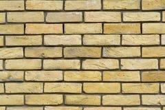 Brickwork from decorative facade bricks royalty free stock image