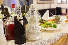 Decorative Bridal Display At A Wedding Stock Photo