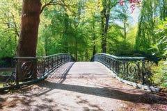 Decorative bridge in The Loo park Stock Photos