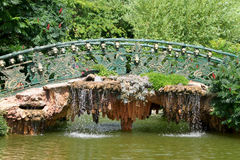 Decorative bridge Royalty Free Stock Photo