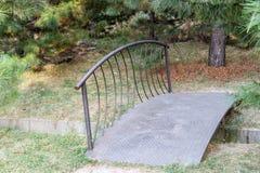 Decorative bridge in the park Stock Image